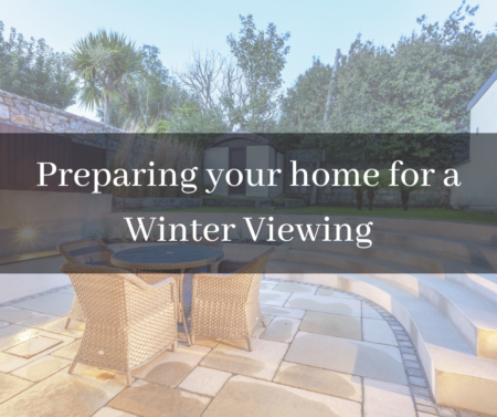 preparing your home for a winter viewing
